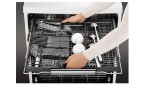 AEG FFB63700PM Lave-vaisselle libre installation Proclean 60 cm Inox Anti-traces